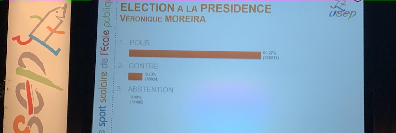 AG de Lorient: Véronique Moreira réélue Présidente de l\'USEP